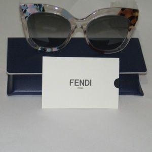 FENDI - Jungle FF0179S Geometric Sunglasses
